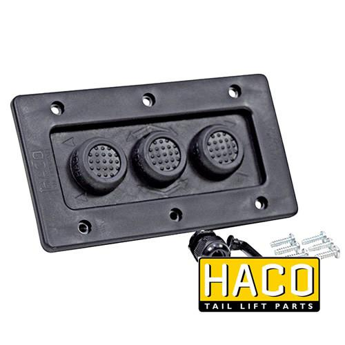 Outside control 3-button HACO to suit E0196.M