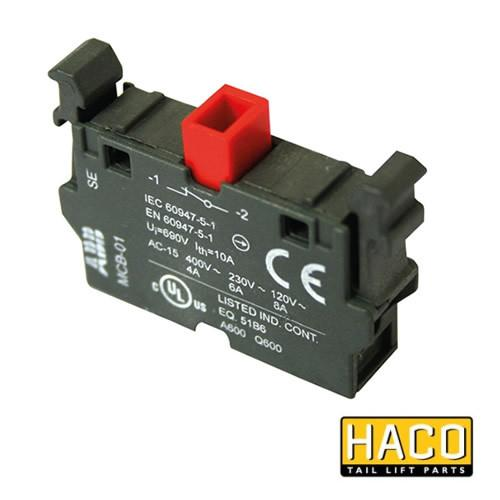 Contact 1 x NC HACO to Suit Zepro 21728