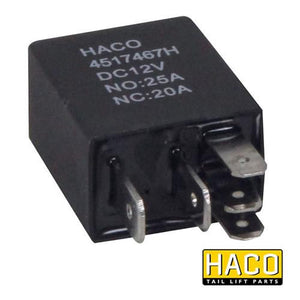 24v Mini Relay HACO to suit Bar Cargo 101119161 , Haco Tail Lift Parts - Bar Cargolift, Nationwide Trailer Parts Ltd
