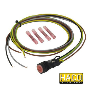 24v Cabin switch HACO to suit Bar Cargo 101118843 , Haco Tail Lift Parts - Bar Cargolift, Nationwide Trailer Parts Ltd