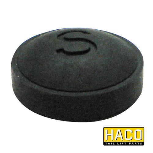 Button foot control 'S' HACO to suit Bar Cargo 101100942 , Haco Tail Lift Parts - Bar Cargolift, Nationwide Trailer Parts Ltd