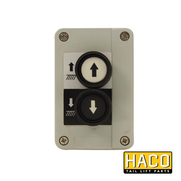 Control Box 2-button HACO to suit 2651-019-0