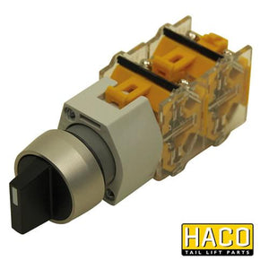 Rotary/Selector Switch HACO to suit E0330 , Haco Tail Lift Parts - Dhollandia, Nationwide Trailer Parts Ltd