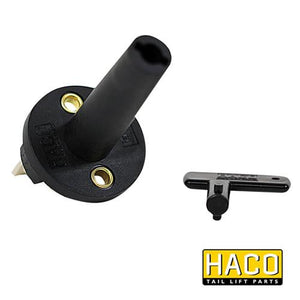 Main battery switch HACO to suit E2007 , Haco Tail Lift Parts - Dhollandia, Nationwide Trailer Parts Ltd