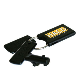 Set keys battery sw. N.T. HACO to suit E2047 , Haco Tail Lift Parts - HACO, Nationwide Trailer Parts Ltd