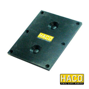 Cabin switch 2-button cool HACO , Haco Tail Lift Parts - Dhollandia, Nationwide Trailer Parts Ltd