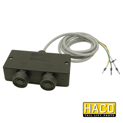 Interior Control 2 Button to suit Dhollandia Tail Lifts E0189.H , Haco Tail Lift Parts - Dhollandia, Nationwide Trailer Parts Ltd