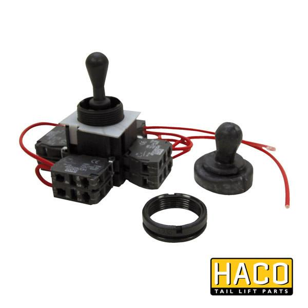 Joystick 8xNO >2008 HACO to suit E0760 , Haco Tail Lift Parts - Dhollandia, Nationwide Trailer Parts Ltd