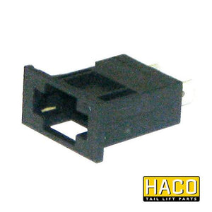 Fuse holder clips to suit E0700 , Haco Tail Lift Parts - Dhollandia, Nationwide Trailer Parts Ltd