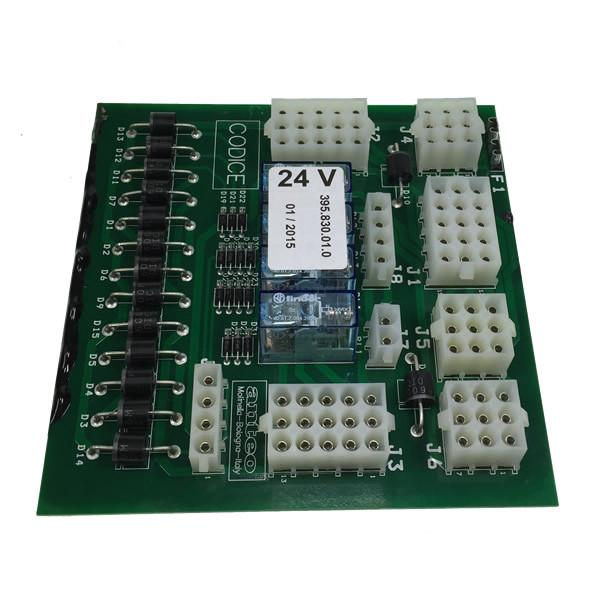 Electronic terminal board 24v