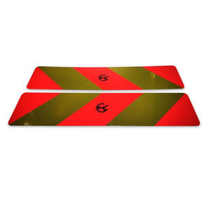 Rear Marker Plates (pair) , Reflective Tape & Marker Boards - Nationwide Trailer Parts, Nationwide Trailer Parts Ltd