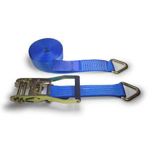 4000kg Ratchet Strap Delta Rings - 8 METRES , Ratchet Straps - Heavy Duty 4000kg - Nationwide Trailer Parts, Nationwide Trailer Parts Ltd