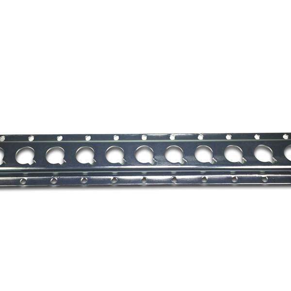 Zinc Plated 1806 Track - 3 metre length , Load Restraint Track - Nationwide Trailer Parts, Nationwide Trailer Parts Ltd - 1