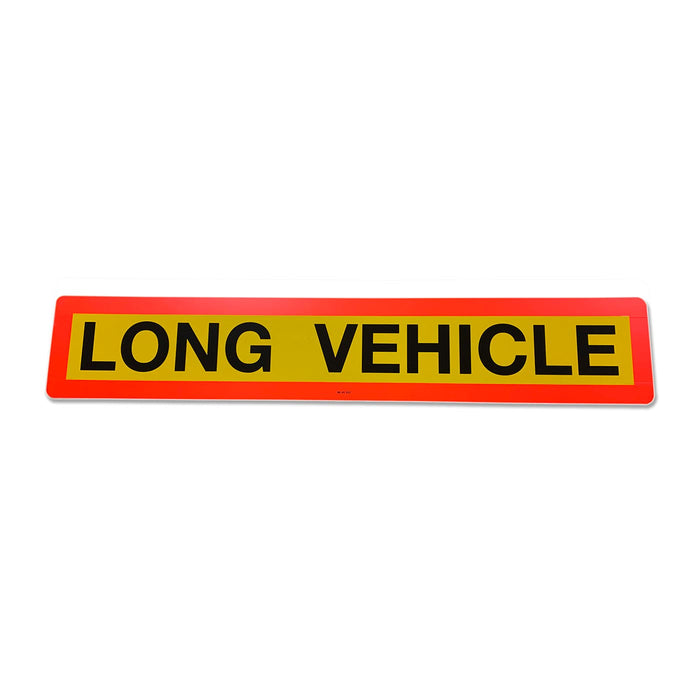 Type 4 Long Vehicle Marker Plate (single) 1265 x 225mm
