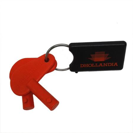 Dhollandia Tail Lift Keys (New Style) , Dhollandia Tail Lift Parts - Dhollandia, Nationwide Trailer Parts Ltd