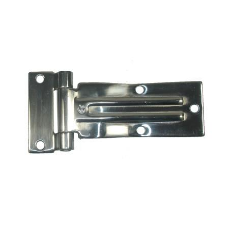 Door Hinge (Raised Blade) - Zinc Plated
