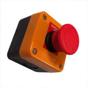 Emergency Stop Button Control (Twist to Release) , Tail Lift Control Boxes & Switches - Nationwide Trailer Parts, Nationwide Trailer Parts Ltd - 1