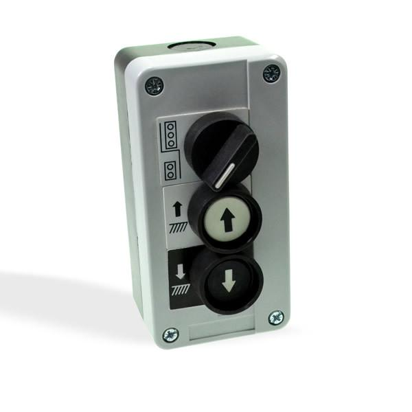 Control Box for Tail Lifts - Three Button (Push & Selector)