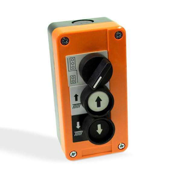 Control Box For Tail Lifts Yellow Three Button Push