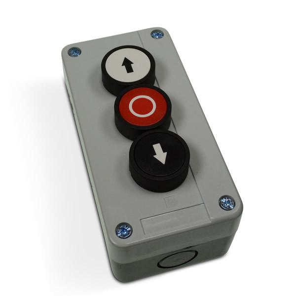Three Button Control Box (Up, Down & Tilt)