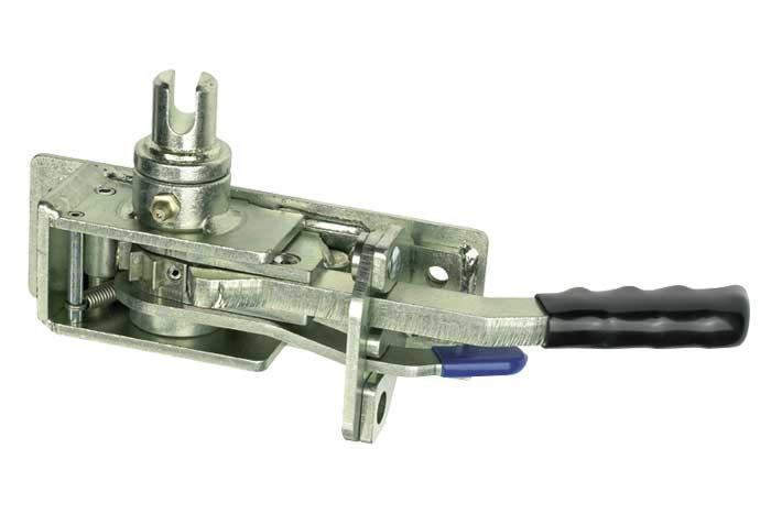 R45D Ratchet Tensioner Left Hand - O/S Rear or N/S Front, Curtainside Ratchet Tensioners - Nationwide Trailer Parts, Nationwide Trailer Parts Ltd - 1
