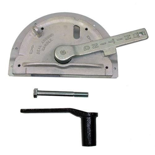 Lifeguard Lock 75-10 Assy Surface Mounted , Whiting Shutter Door Parts - Whiting, Nationwide Trailer Parts Ltd