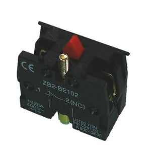 ZB2-BE102 Telemecanique Style Contact Block 1 NC , Clearance - Ratcliff, Nationwide Trailer Parts Ltd