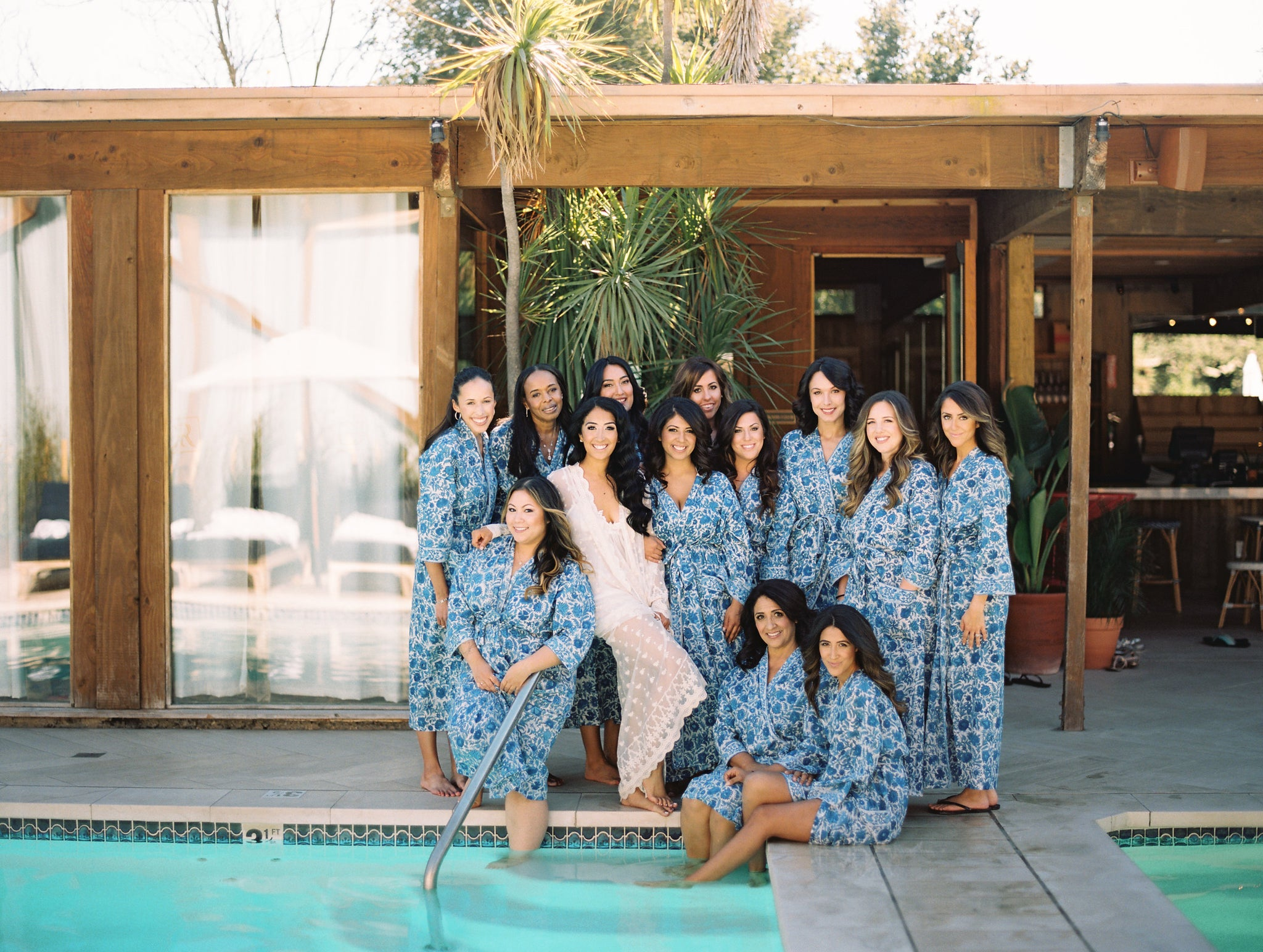 Perfect Bridesmaid Kimono Robes - An Indian Summer