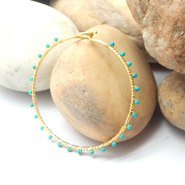Turquoise Bangle - An Indian Summer