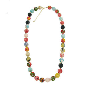 Kantha Garland Necklace - An Indian Summer
