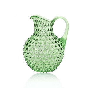 An Indian Summer Crystal Hobnail Jug Light Green | An Indian Summer | Seasonless Timeless Sustainable Ethical Authentic Artisan Conscious Clothing Lifestyle Brand