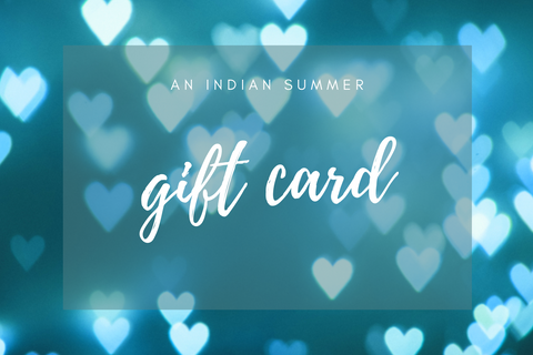An Indian Summer Gift Card