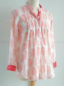 Anandi Top - Coral - An Indian Summer