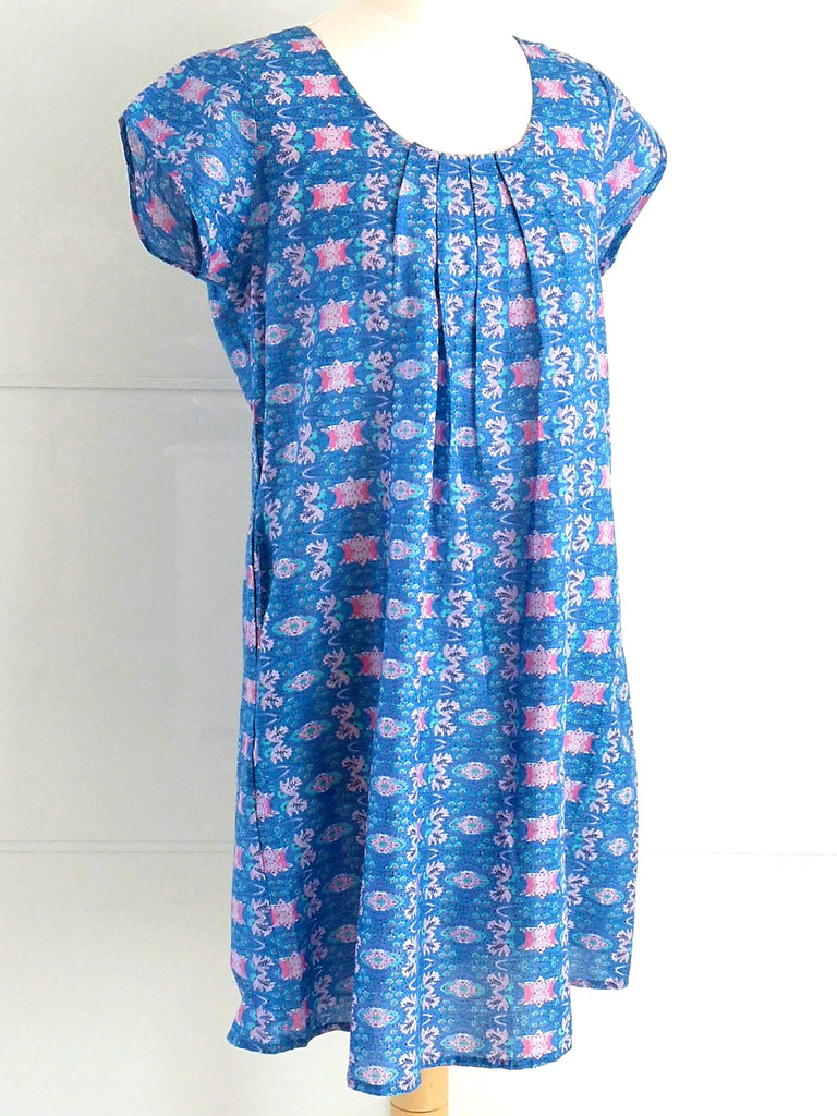 Cosmos Sundress | Fine Cotton Dress | Indian Cotton | An Indian Summer
