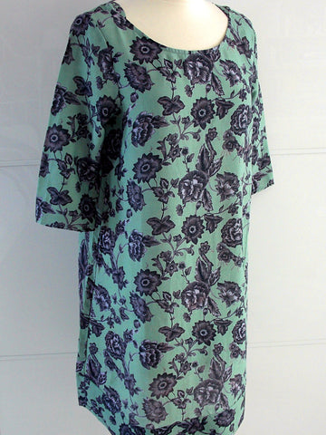 Henrietta Tunic Dress - Mint - An Indian Summer