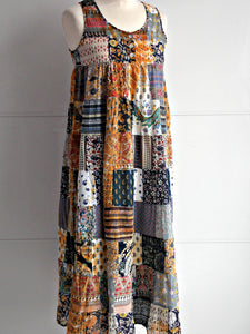 Tilda Patchwork Dress - An Indian Summer