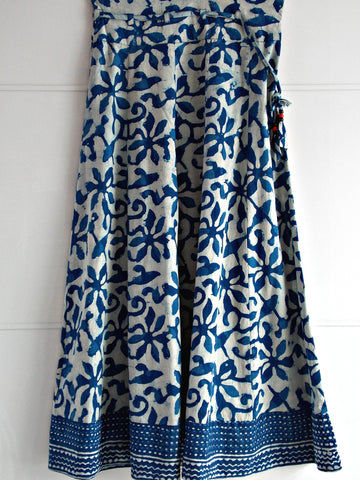 Kyra Indigo Dyed Skirt
