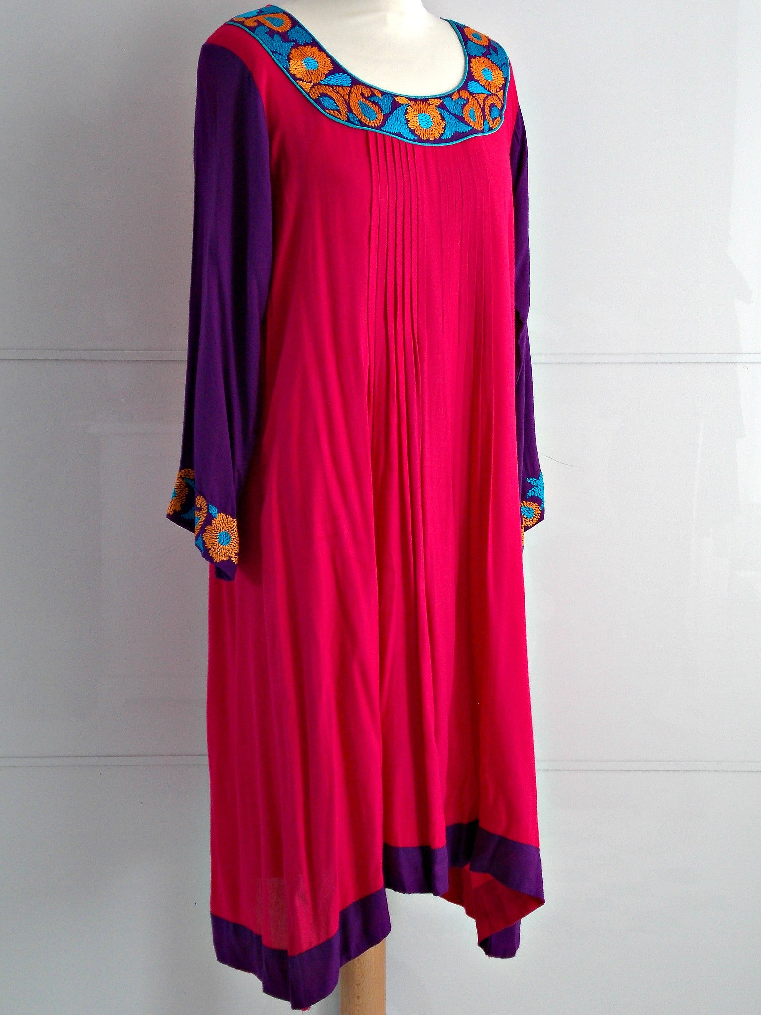 Elly Dress - Pink - An Indian Summer