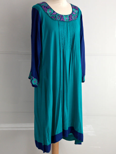 Elly Dress - Blue - An Indian Summer