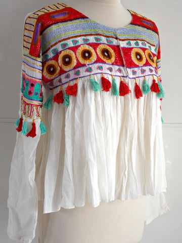 Embroidered Folk Jacket