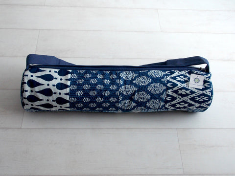 Blue Medley Yoga Bag - Patchwork Squares