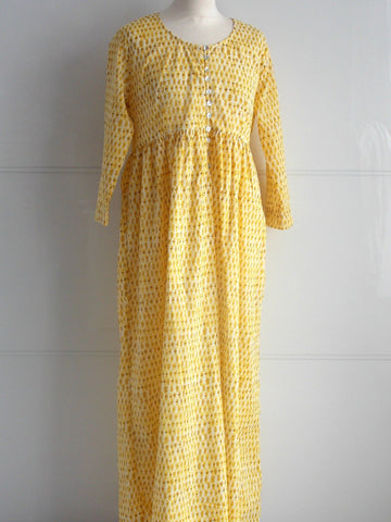 Laguna Yellow Maxi Dress