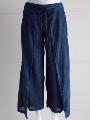 Indigo Blue Layered Trousers - An Indian Summer