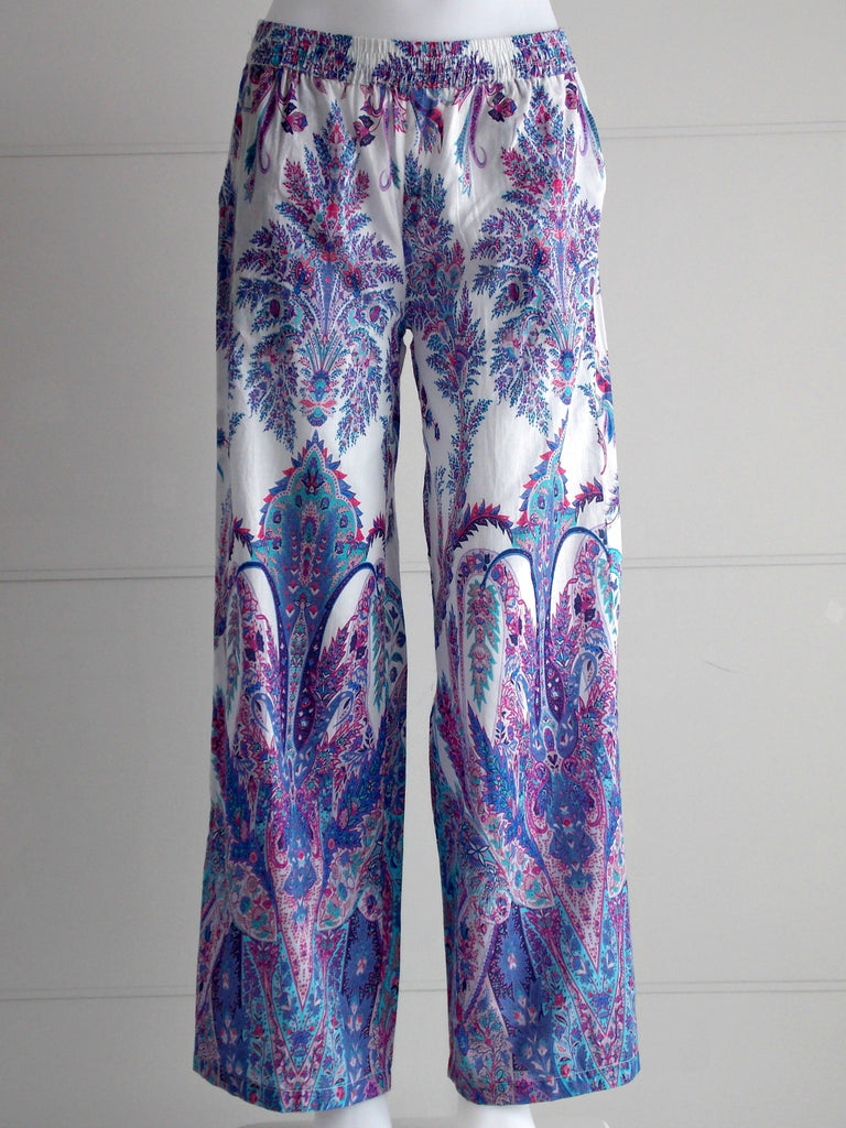 Naomi Lilac Palazzo Pants Purple | Cotton | An Indian Summer