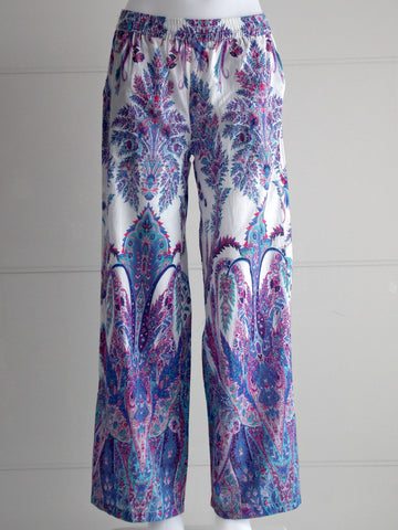 Naomi Lilac Palazzo Pants - An Indian Summer