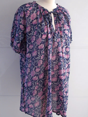 Delphine Smock Tunic - An Indian Summer