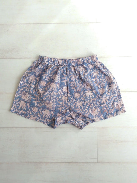 Holly Boxer Shorts - Dove Grey - An Indian Summer