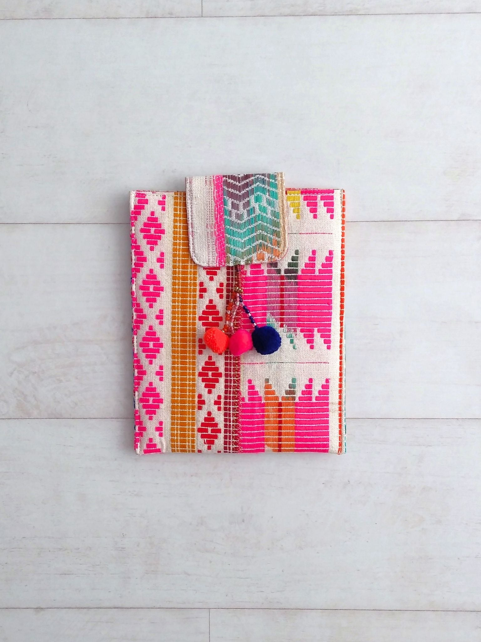 Tablet Cover / Clutch - Small - An Indian Summer