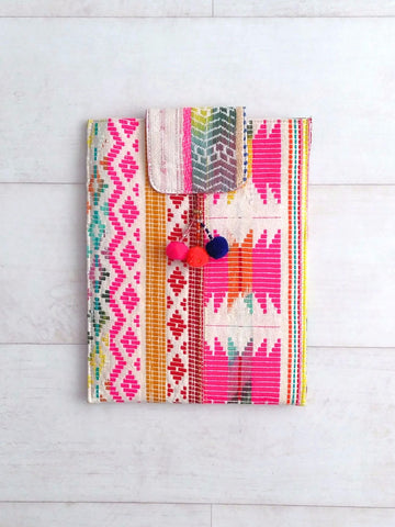 Notebook / Tablet Cover / Clutch - Large