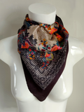 Bavaria Silk Square Scarf - An Indian Summer